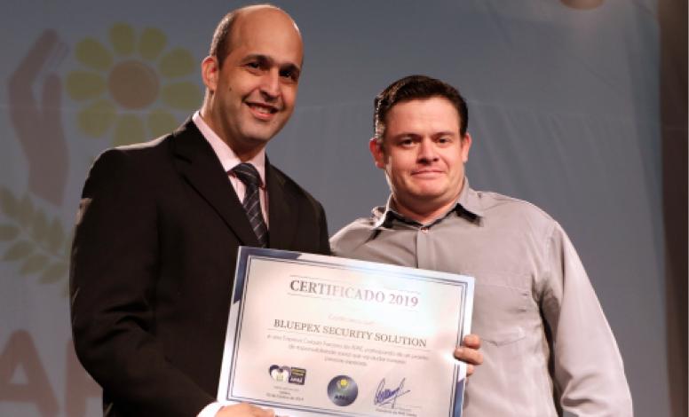 A BluePex® recebe o selo Empresa Cidadã da APAE Limeira